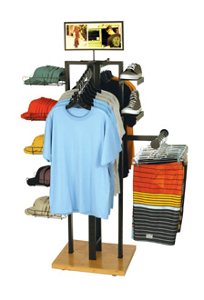 POP Display - 4 Way Clothing Shoe Cap Display