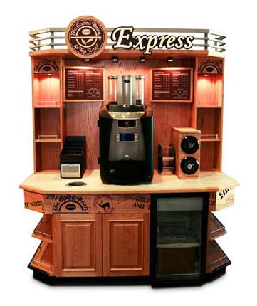 Cofee Bean and Tea Leaf Cofee Kiosk