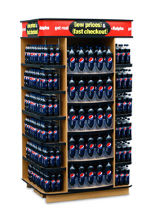Pepsi - Ralphs  Grocery End Cap Display