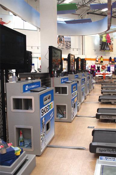 Retail Environment Roadrunner Sports