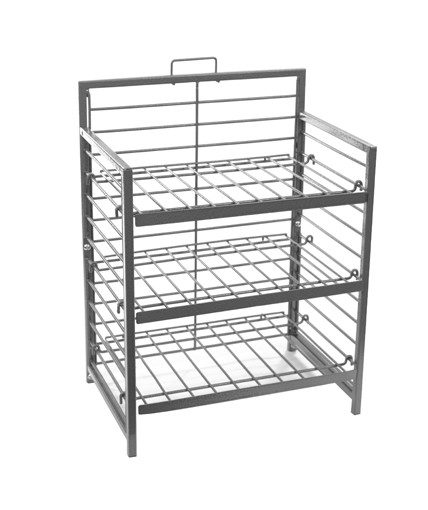 Heavey-Duty Wire Shelf Counter Display for Retail