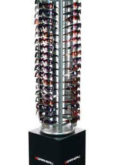 Louis Garneau 72 Count spinning sunglass display