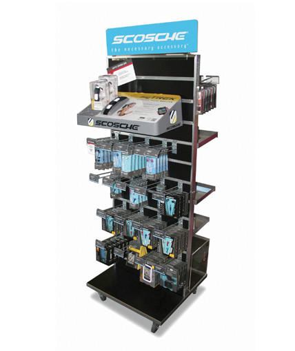 Scosche Slatwall POP Retail Display
