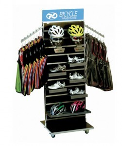 Slattwall Display SW-62FL MOCA Retail Slatwal Display By RICH LTD