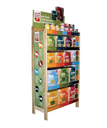 The Honest Kitchen Point Of Purchase Custom Retail Display