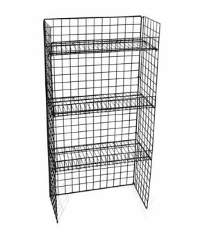 WS-04B Floor Shelf Retail Display by Rich Ltd.