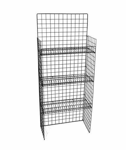 WS-05B Floor Shelf Retail Display by Rich Ltd.