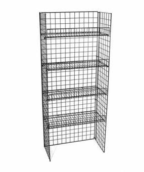 WS-06B Floor Shelf Retail Display by Rich Ltd.