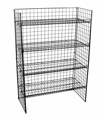 WS-34B Floor Shelf Retail Display by Rich Ltd.