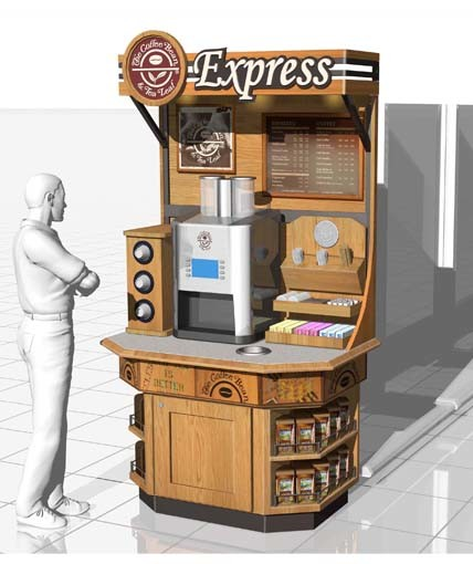 Coffee Bean & Tea Leaf Kiosk