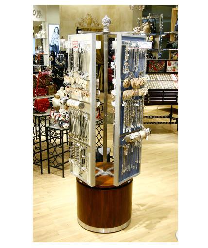 Brighton Jewelry Point Of Purchase Custom Retail Display