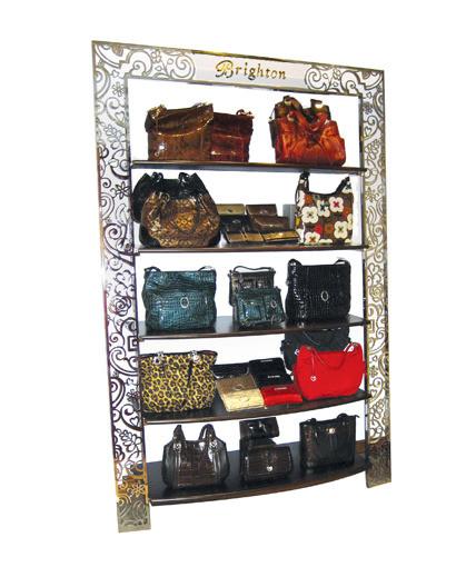 Brighton Shelf display