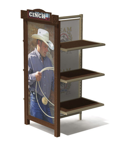 Cinch Jeans retail apparel display