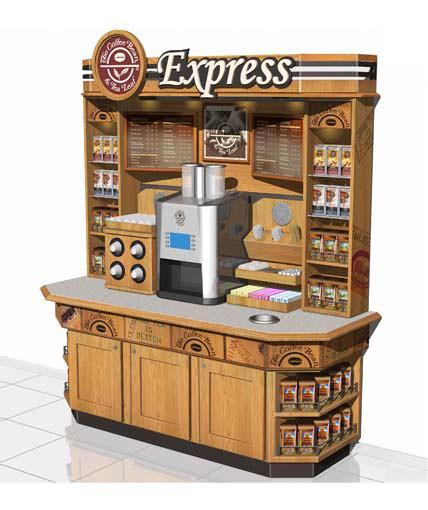 Coffee Bean Amp Tea Leaf Custom Retail Kiosk The Best