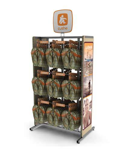 Cushe sandal Point Of Purchase Custom Retail Display