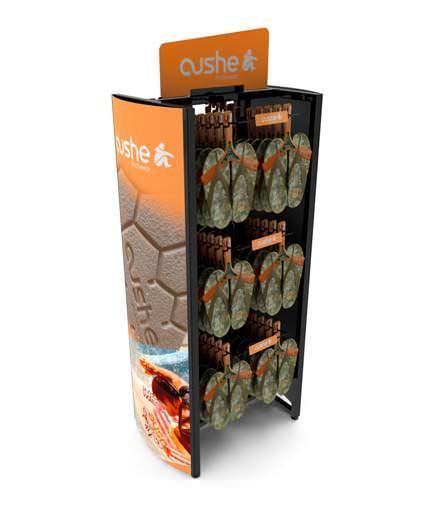 Cushe Sandal Floor Retail Display