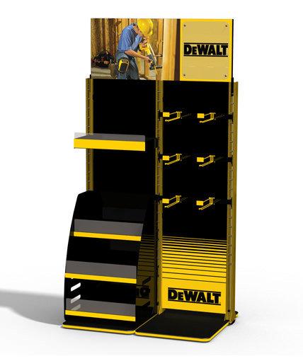 Dewalt Point of Purchase Retail Display