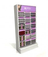 Jordana MakeUp End cap with moduals Floor Display