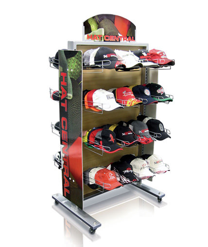 Kmart hat gondola Point Of Purchase Custom Retail display