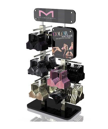 Maidenform custom designed bra retail display render