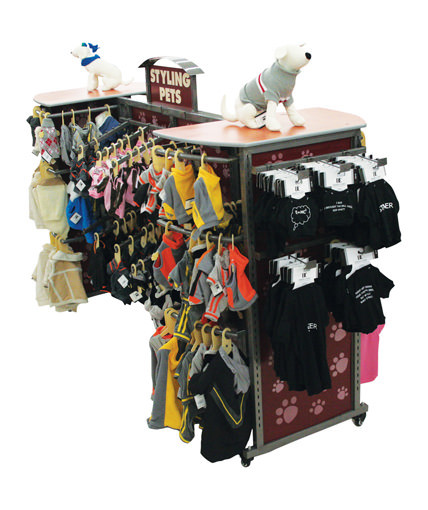 petco-point-of-purchase-display-store-fixture-pet-outfits