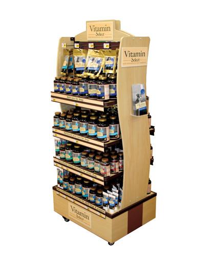 Petco Vitamin Point Of Purchase Custom Retail Display