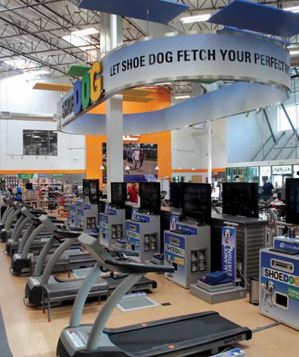 Shoe dog retail store