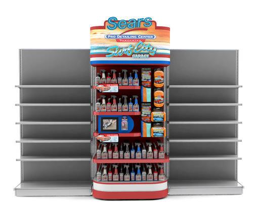 Surf City Garage Retail Display - In Line
