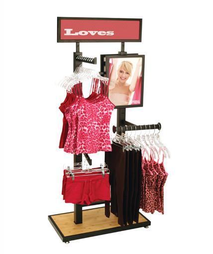 4-Way-POST Retail Display By Rich LTD.