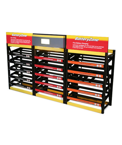 Autozone Point Of Purchase Custom Retail Display
