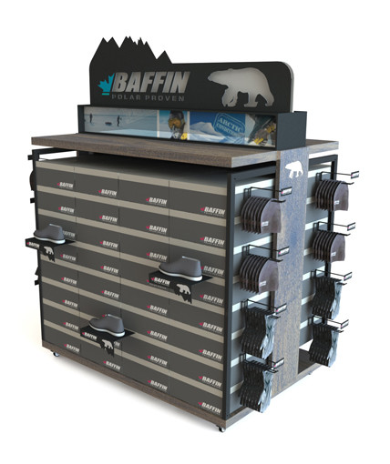 Baffin Point Of Purchase Custom Retail Display