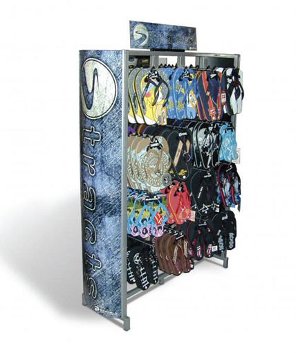 Bioworld Sandal Point Of Purchase Custom Retail Display