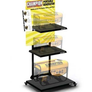 Champion Portable Generator Point Of Purchase Display