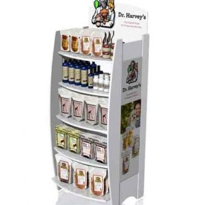 Dr. Harvey Point Of Purchase Custom Retail Display