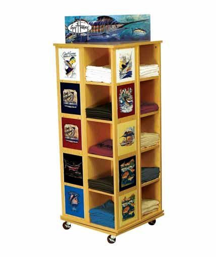 Guy Harvey Point Of Purchase Retail Floor Display