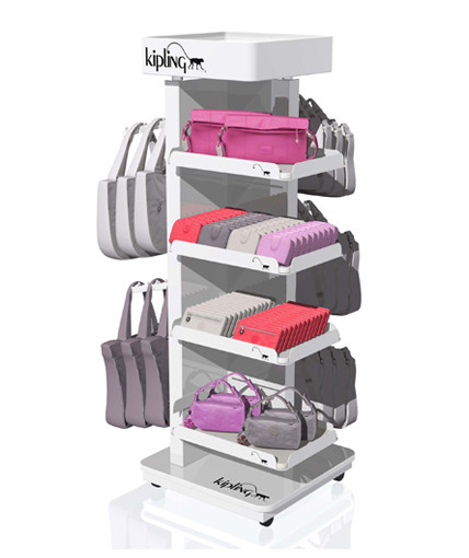 Kipling Point Of Purchase Custom Floor Display