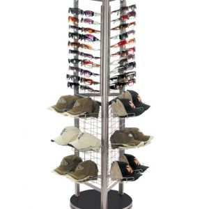 Spinning Retail Multi-Product Display
