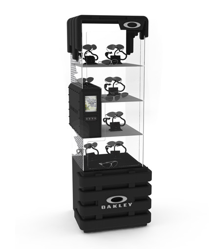 Oakley Point Of Purchase Custom Retail Display