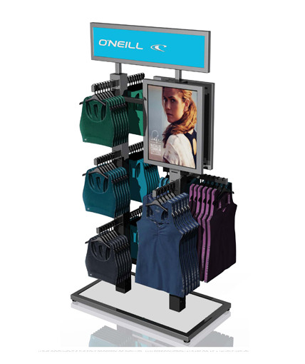 O'Neill Point Of Purchase Custom Floor Display