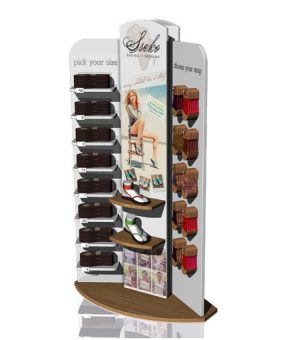 seecko sandals display floor fixture