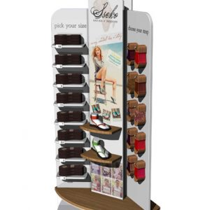 Sseko Sandal Point Of Purchase Custom Retail Display