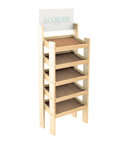 wd 20flp ss retail wood display the best retail displays. Black Bedroom Furniture Sets. Home Design Ideas