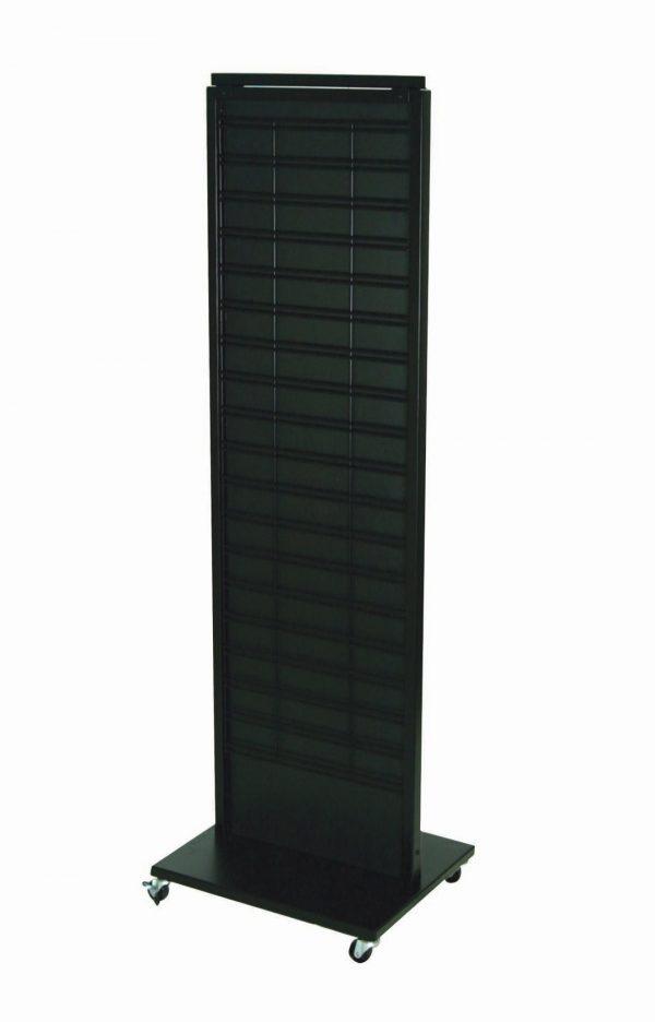 slatwal grid floor retail display