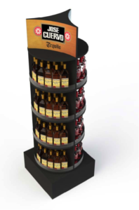 This is a tower POP Display from Jose Cuervo
