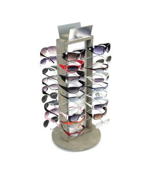 SU-WOOD36 Sunglass Display