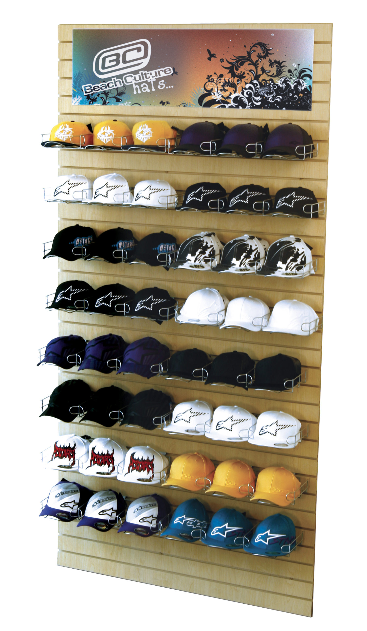 CAP-8 Hat / Cap Retail Display By RICH LTD